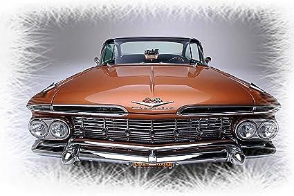Amazon com : 1959 Chevrolet Impala Hardtop Front End Picture on