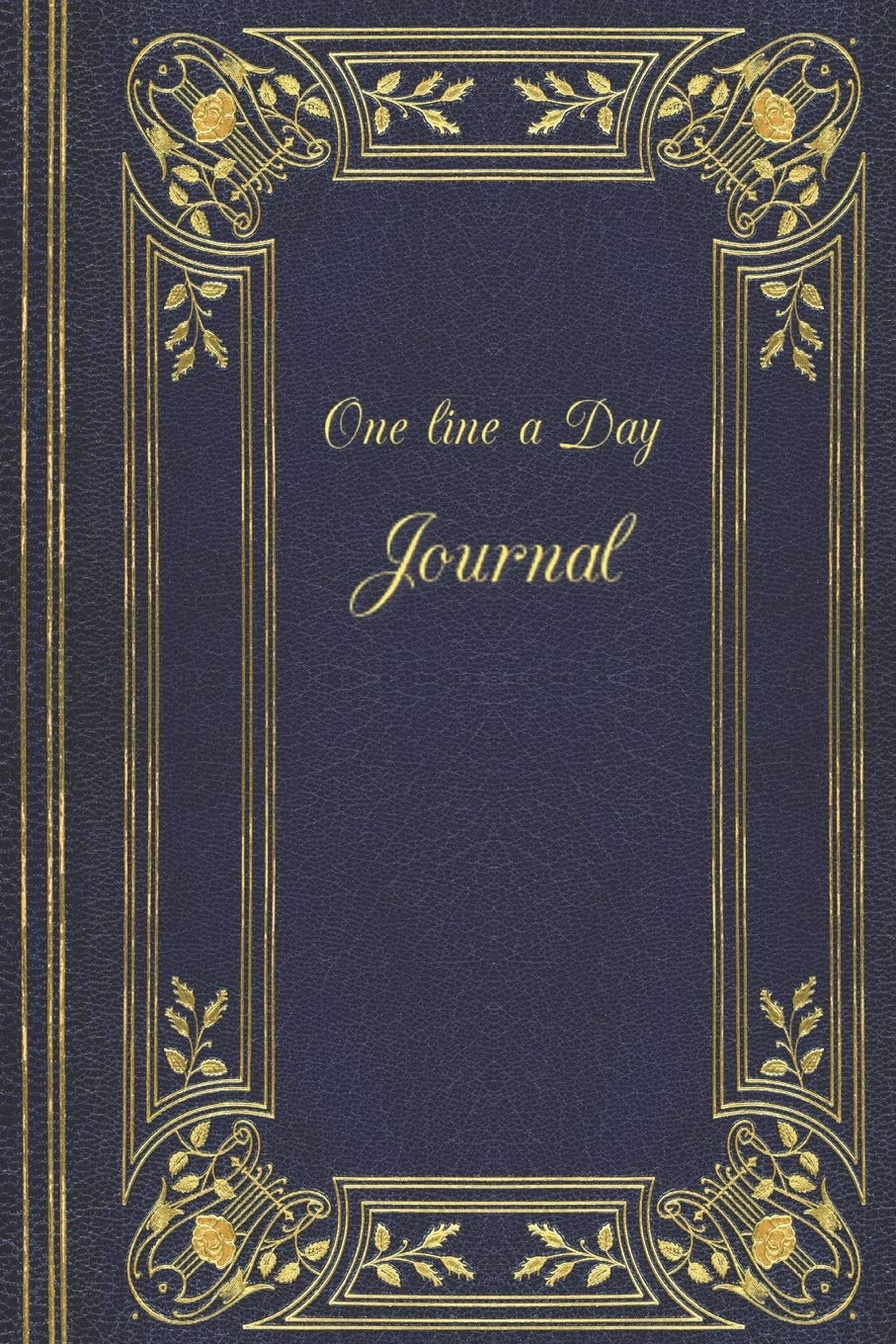 One Line A Day Journal  Decorative One Line A Day Journal Five Year Memory Book Diary Notebook Lined Blank Pages