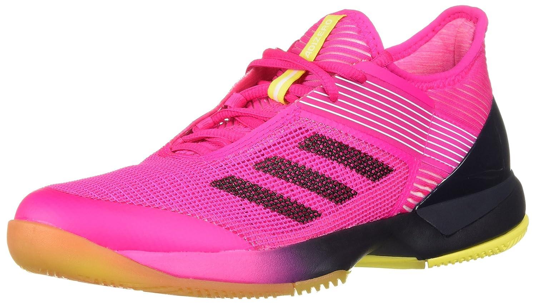 adidas Women's Adizero Ubersonic 3 B077X4173T 9 B(M) US|Shock Pink/Legend Ink/White