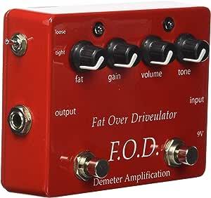 Demeter FOD-1 Fat Over Driveulator Effect Pedal