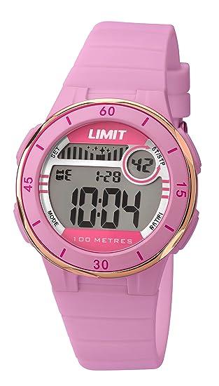 Limit Reloj Digital para Chica de Cuarzo con Correa en plástico 5557.24: Amazon.es: Relojes