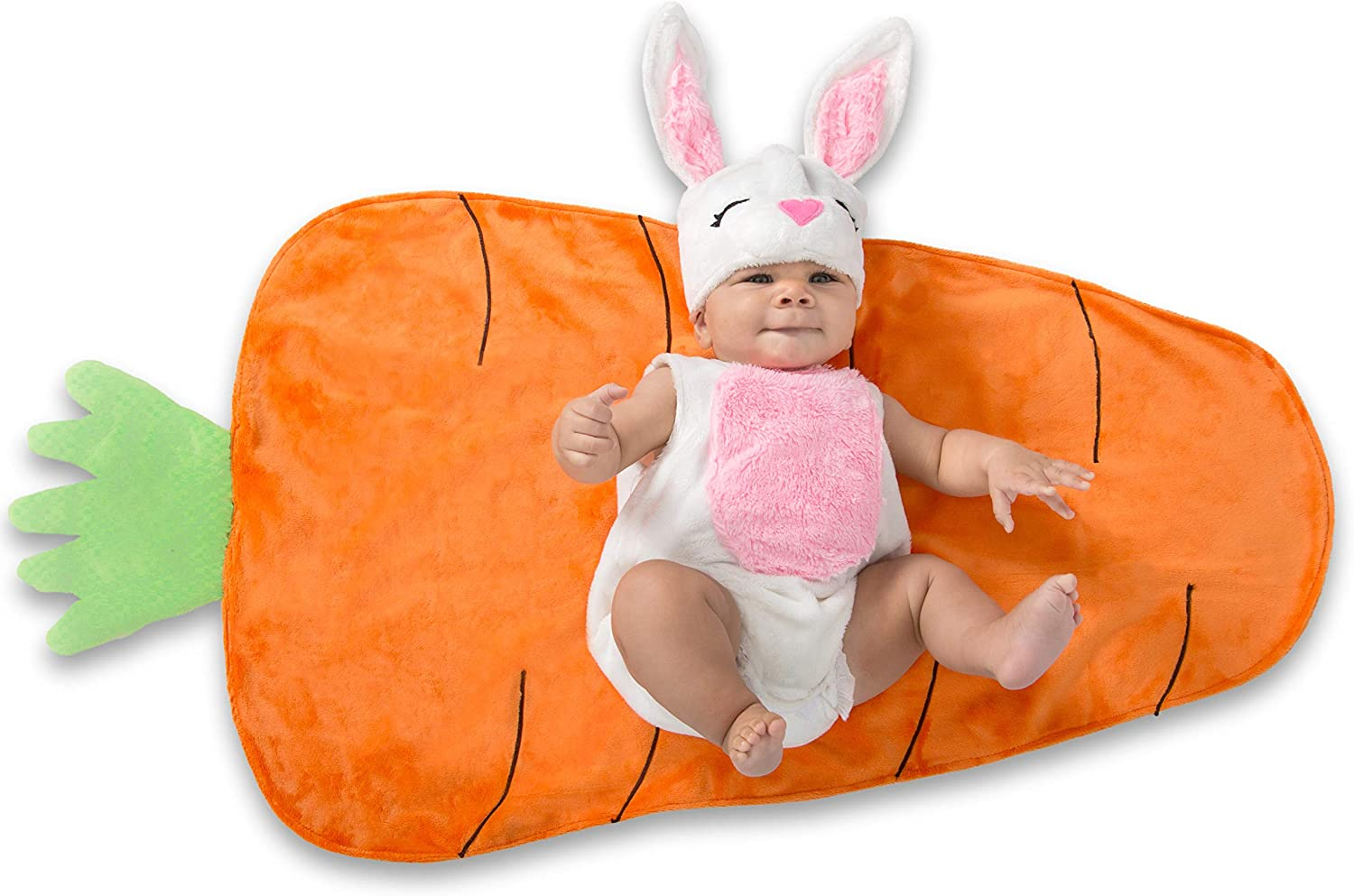 Princess Paradise Deluxe Swaddle Wings Bunny Baby 0-3 Months