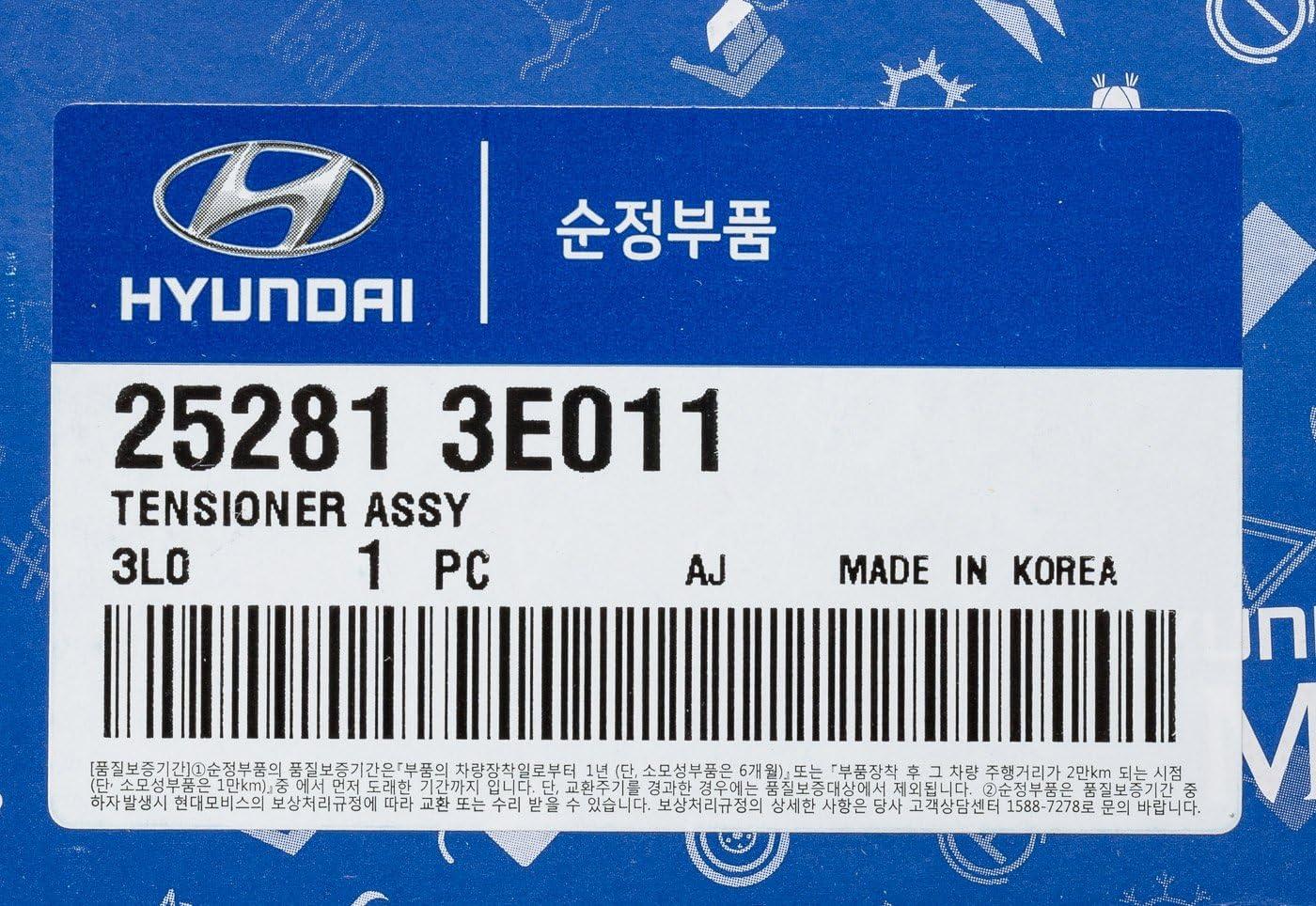 Genuine Hyundai 25281-3E011 Tensioner Assembly