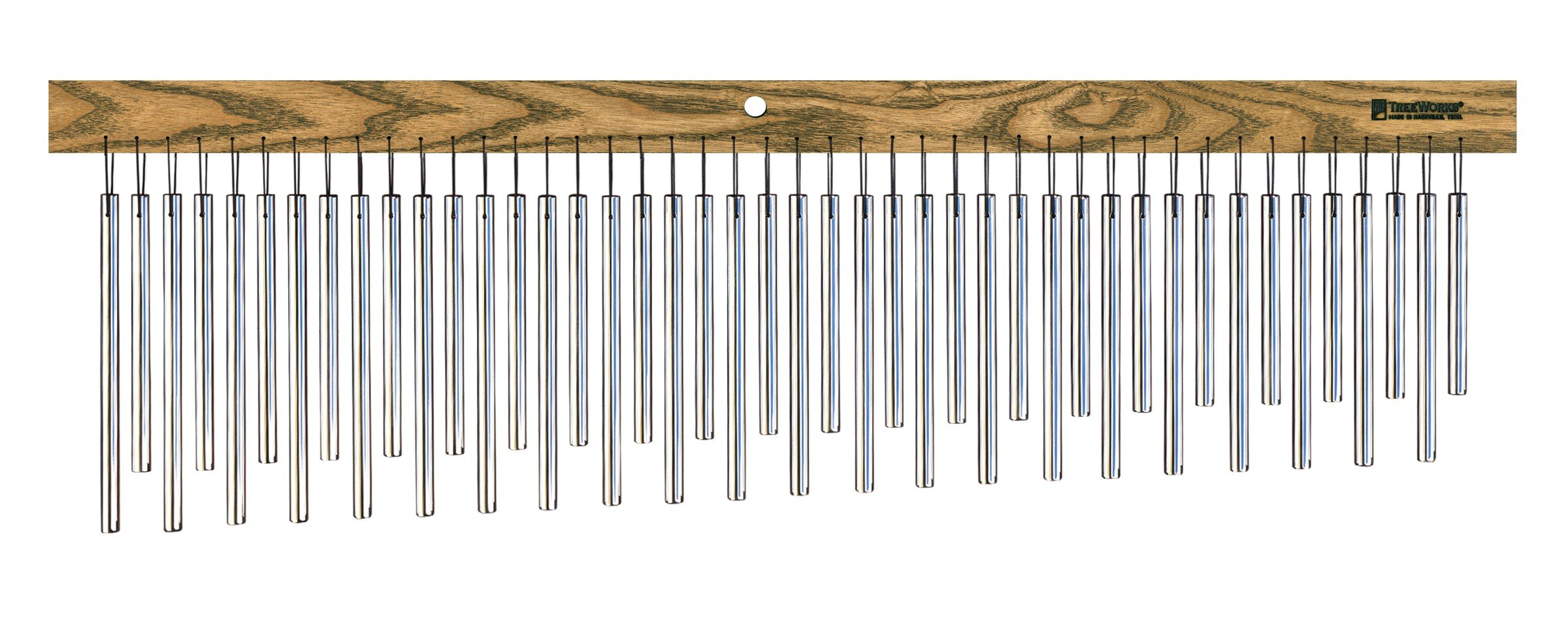 TreeWorks Chimes TRE555 Made in USA DreamTree Extra Large Single Row Bar Chime with Chorus Effect Tuning (VIDEO) by TreeWorks Chimes
