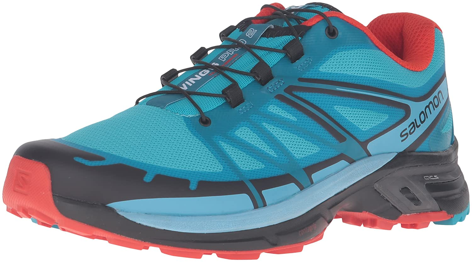 Salomon Wings Pro 2 Women's Shoes SangriaBlackWhite