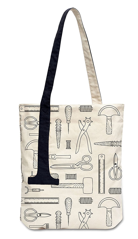 Vietsbay レディース B06WWBHS1T Leather Tools Pattern