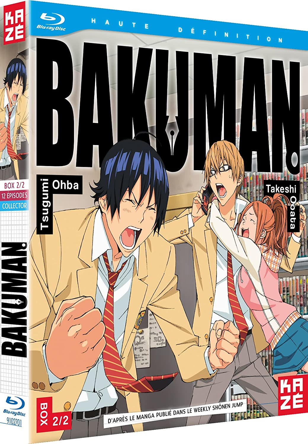 amazon com bakuman box 2 2 edition collector blu ray movies tv bakuman box 2 2 edition collector blu ray