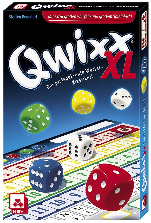 NSV 4022 Würfelspiel Nürnberger Spielkarten Nürnberger-Spielkarten Spielen // Raten empfohlenes Alter: ab 8 Jahre QWIXX XL