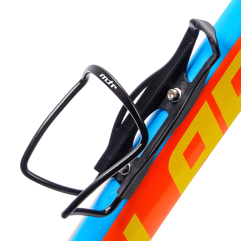 Bid/ón para Carretera Monta/ña MTB Accesorio Bici Compacto y Ligero Aluminio Soporte de Botella de Ciclismo meteor Portabid/ón para Bicicleta