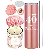 40th Birthday Gifts for Women, 40 Birthday Gifts, Gifts for 40th Birthday Women, 40th Birthday Decorations, Happy 40th Birthd