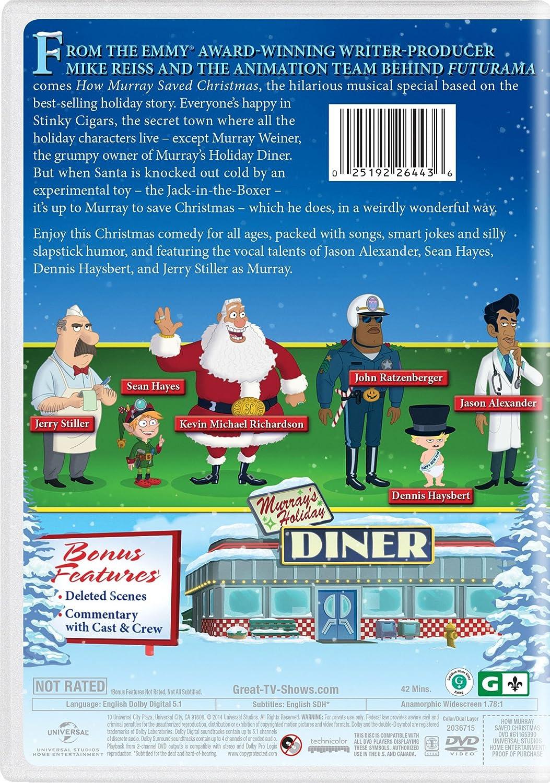 Amazon.com: How Murray Saved Christmas: Jason Alexander, Sean ...