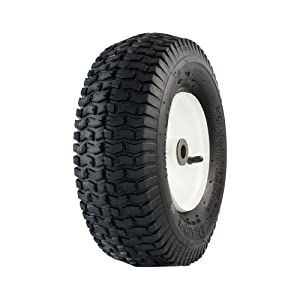 "Marathon 20336 13x5.00-6"" Pneumatic (Air Filled) Tire on Wheel, 3"" Hub, 3/4 Bushings"