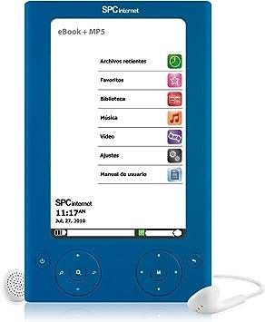 Libro electrónico color ebook SPCinternet 5505A: Amazon.es ...