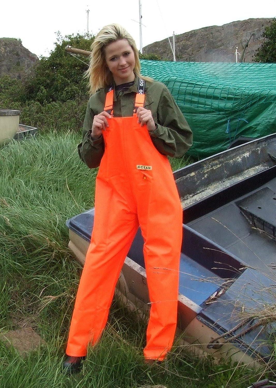 Ocean Classic Latzhose - Ölzeughose aus PVC auf Baumwollträger. DAS Ölzeug für den Profi