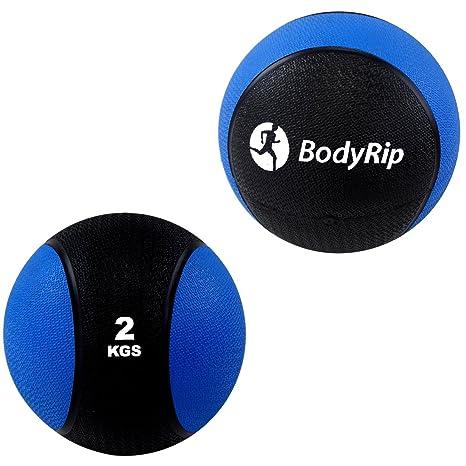 Balón medicinal 2 kg Crossfit Bootcamp MMA Fitness entrenamiento ...