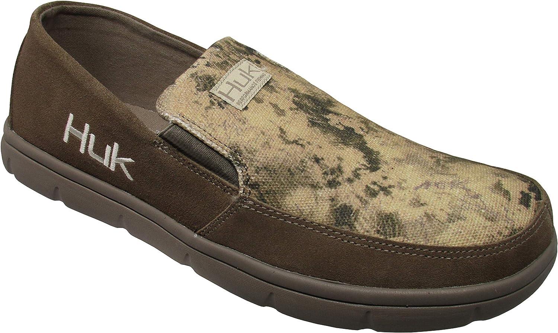 Huk Mens Leather Brewster Slip-On Shoe H8012300