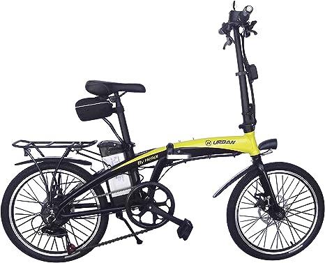Helliot Bikes ByHelliot01 Bicicleta Eléctrica Plegable, Unisex Adulto ...