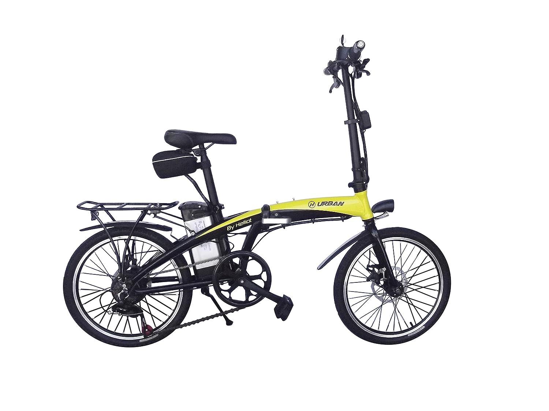 Helliot Bikes by 01 Bicicleta Eléctrica Plegable, Adultos Unisex, Amarillo/Negro, M-L: Amazon.es: Deportes y aire libre
