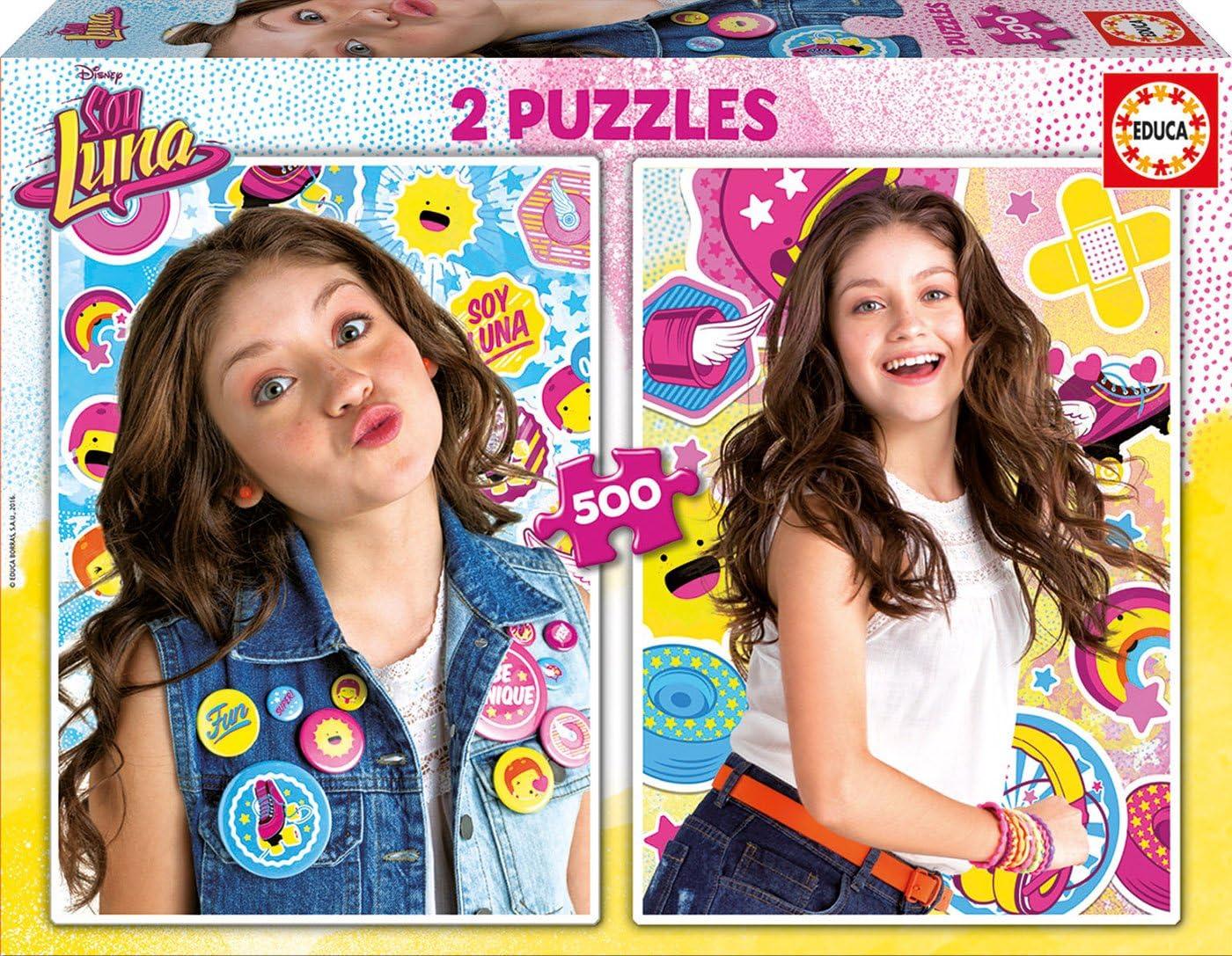 Soy Luna - Puzzles con 2 X 500 Piezas (Educa Borrás 17019): Amazon.es: Juguetes y juegos