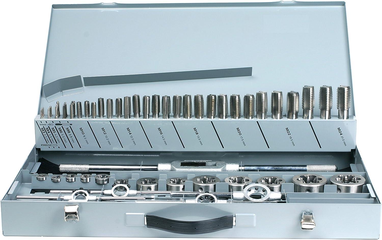 PROFI GSR Gewindebohrer Satz Metrisch HSSG 3 teilig Handgewindebohrer M3-M24