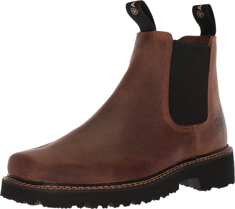 ARIAT botas occidentales de punta ancha con punta cuadrada para hombre