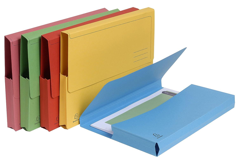 Exacompta Forever Pack di 50/cartelline per A4/tasca 290/g//m/² 24/x 32/cm 24,5x32,5 grigio