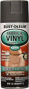 Rust-Oleum 249308 Automotive Fabric & Vinyl Spray Paint, 11-Ounce, Charcoal,Charcoal Gray