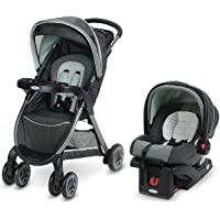 Graco FastAction Fold Travel System | Includes FastAction Fold Stroller and SnugRide 30 Infant Car Seat, Bennett