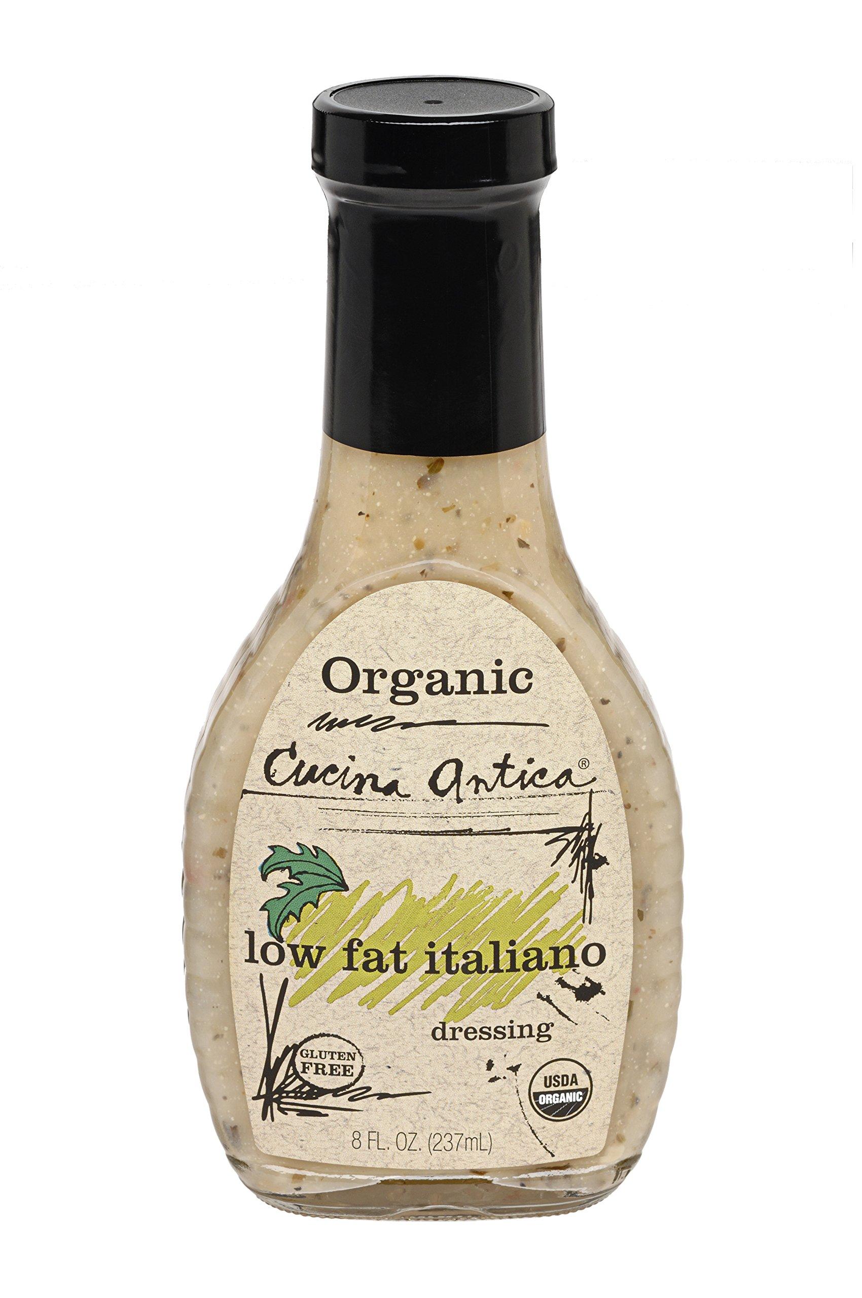Cucina Antica Organic Low Fat Italiano Dressing, 8 oz