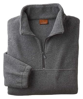 6ef1c575b1b61 Harriton Quarter-Zip Fleece Pullover Sweatshirt