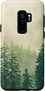 Galaxy S9+ Forest Trees Nature Camping Phone Case