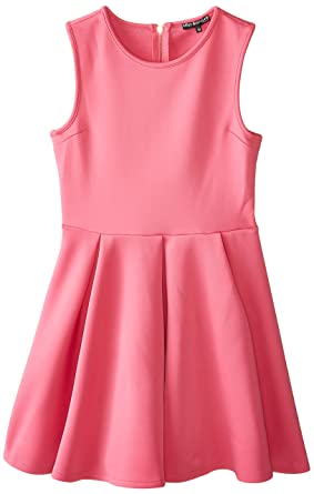 2c07d4e4704c7 Amazon.com: Miss Behave Girls' Big Nanette Dress, Rose, Medium: Clothing