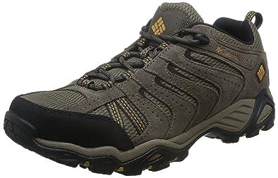 Columbia Men's North Plains II Hiking Shoe, Wet Sand, Squash, ...
