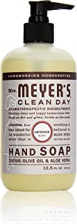 product image for Mrs. Meyer's Clean Day Liquid Hand Soap, Lavender, 12.5 Fl Oz (Pack of 1)