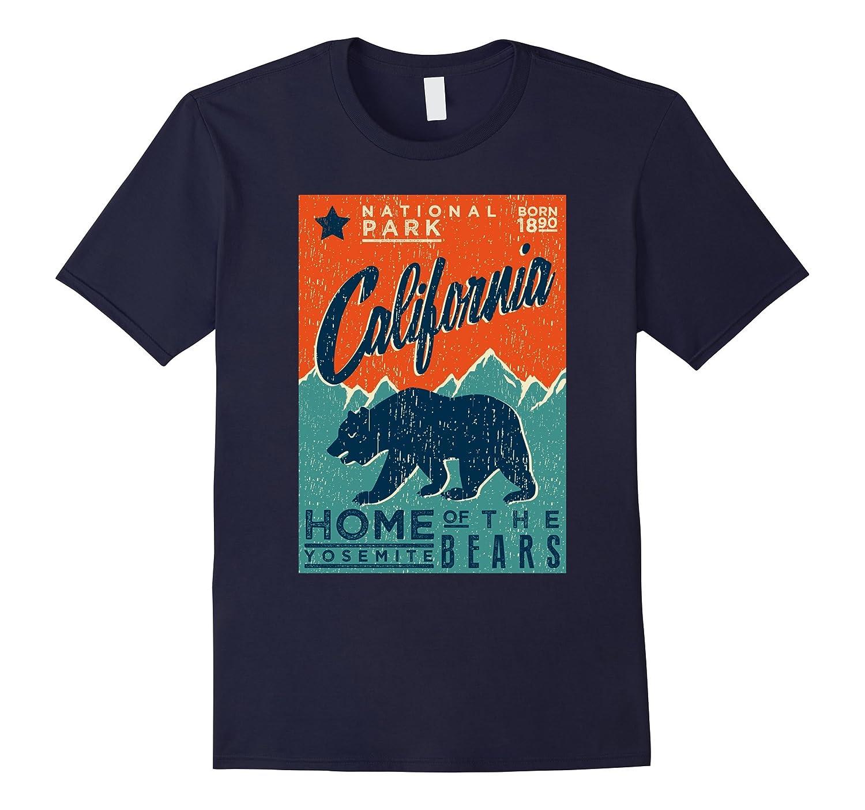 California Yosemite National Park - Bears Tee Shirt-TH