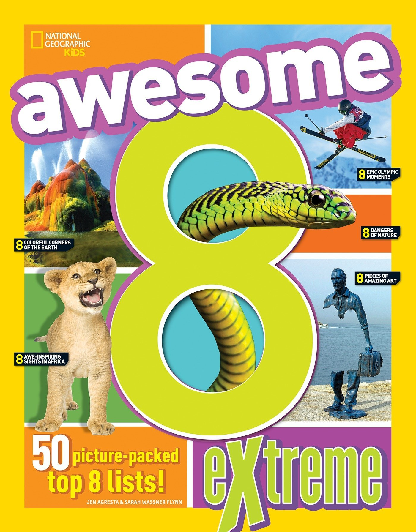 Awesome 8 Extreme (National Geographic Kids) PDF
