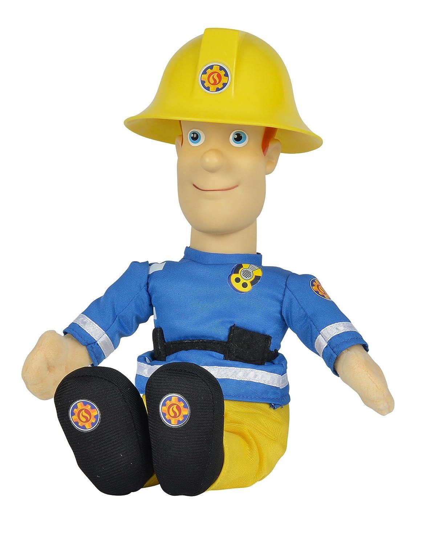 Simba Feuerwehrmann Sam sprechende Plüschfigur 30 cm