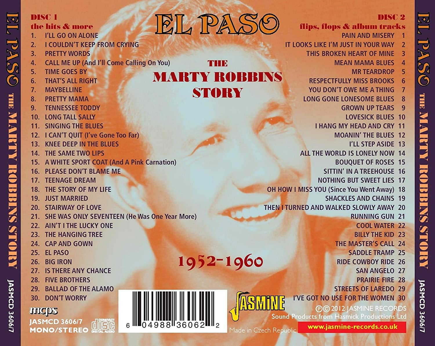 El Paso...the Marty Robbins Story - Marty Robbins: Amazon.de: Musik