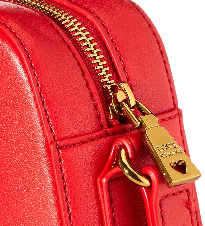Love Moschino kvinnors Jc4027pp1a cross-body väska Red (Rosso)