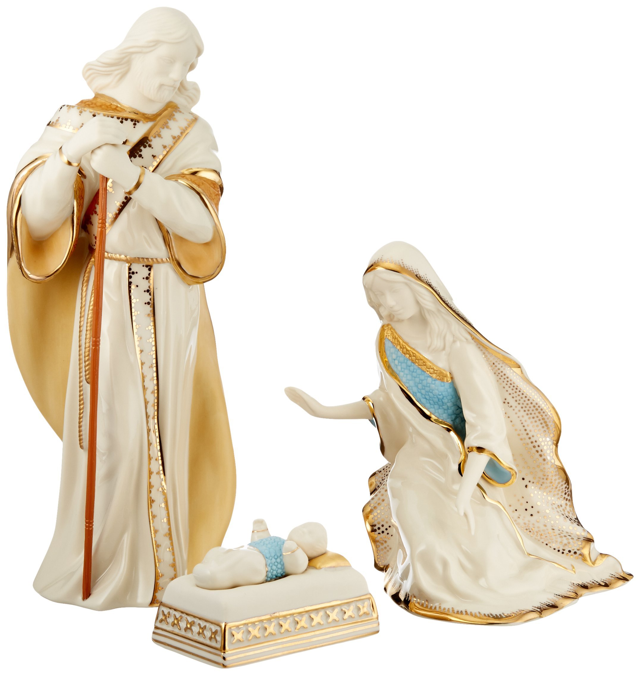 Lenox First Blessing Nativity The Holy Family, Set of 3 by Lenox (Image #1)