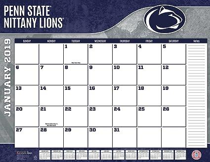 Penn State Calendar 2019 Amazon.: Turner 1 Sport Penn State Nittany Lions 2019 22X17