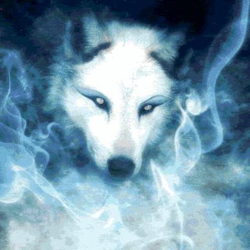 Native American Wallpaper - Wolf Spirit Live Wallpaper