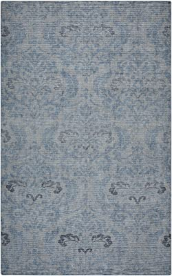 Rizzy Home Beige Rug in Wool 3' x 5'