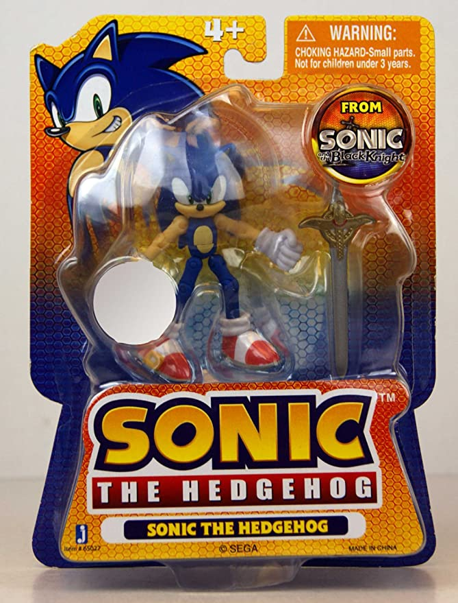 Jazwares Sonic The Hedgehog Exclusive 3 5 Inch Action Figure Black Knight Sonic The Hedgehog Includes Caliburn Sword Action Toy Figures Amazon Canada