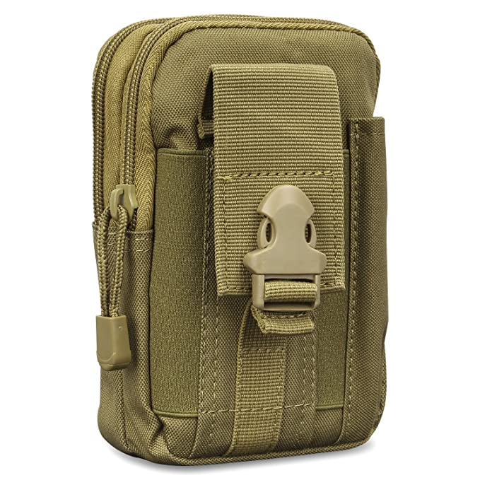 Cases Universal Outdoor Waist Bag MoKo Tactical EDC Molle Pouch Hiking Camping