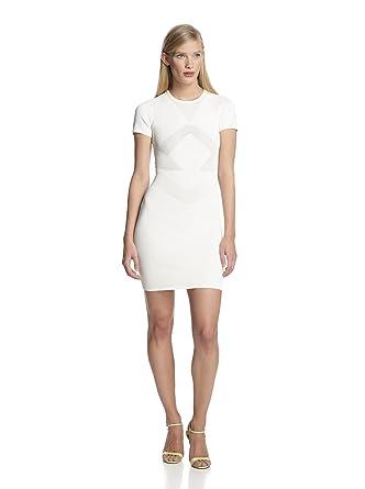 f17b88a2580 Amazon.com: French Connection Women's Montana Knit Dress, Daisy ...