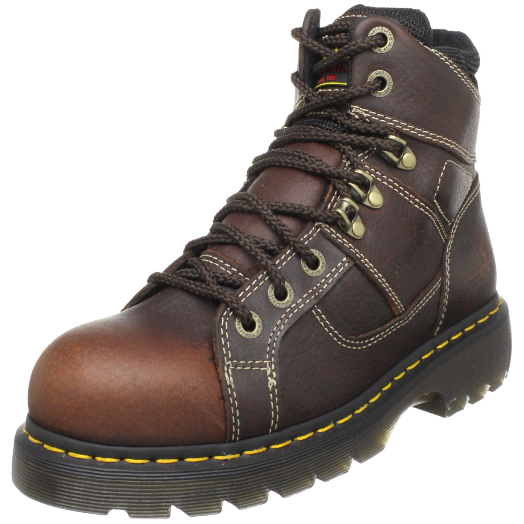 Dr. Martens Ironbridge Safety Toe Boot,Teak,9 UK/11 M US Women's/10 M US Men's