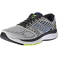 New Balance Men's 860 V9 Running Shoe, White/Blue