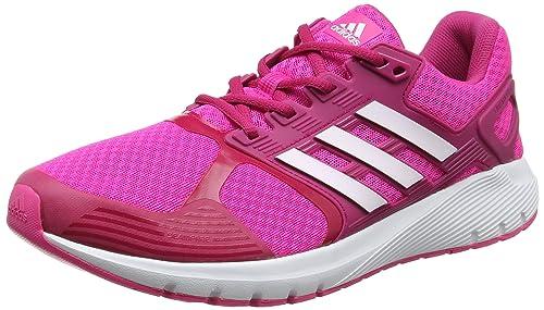 sale retailer bc178 90c85 adidas Duramo 8 W Scarpe Running Unisex – Adulto, Rosa (Shock Ftwr White