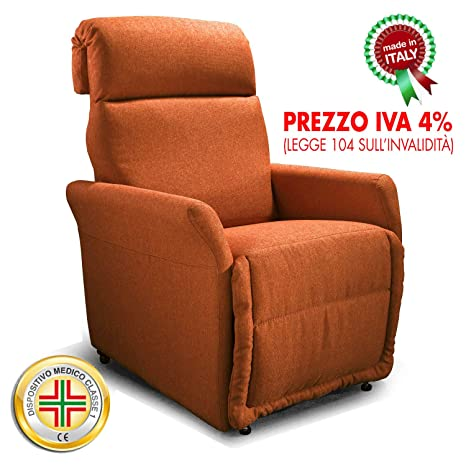Goldflex - Poltrona MOD. Ponza, Relax ELETTRICA, 2 Motori ...